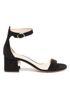 Nicholas Kirkwood Miri pearl-heeled suede sandals