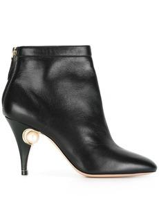 Nicholas Kirkwood Penelope Pearl ankle boots - Black