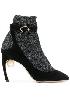 Nicholas Kirkwood Lola Sock pumps - Black