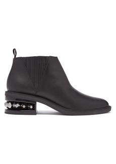 Nicholas Kirkwood Suzi crystal-heeled leather chelsea boots
