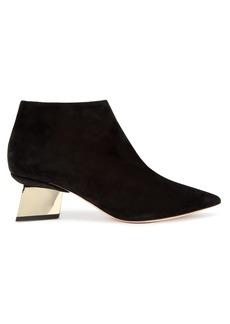 Nicholas Kirkwood Veronika suede ankle boots