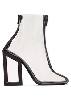 Nicholas Kirkwood Void PVC ankle boots