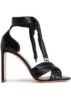 Nicholas Kirkwood Woman Leather Sandals Black
