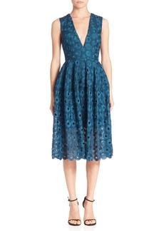 NICHOLAS Lace Fit-&-Flare Dress