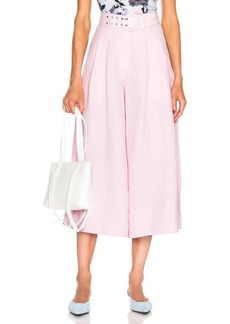 NICHOLAS Belted Wide Leg Pant