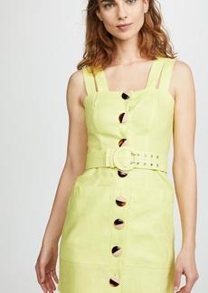 Nicholas Button Double Strap Dress