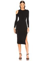 NICHOLAS Compact Cold Shoulder Dress