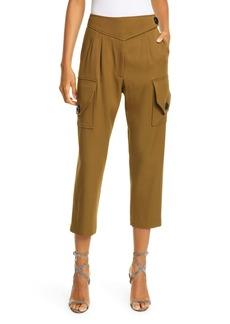 NICHOLAS Crop Cargo Pants