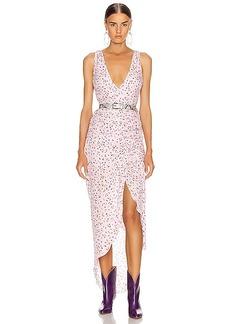 NICHOLAS Drape Front Dress