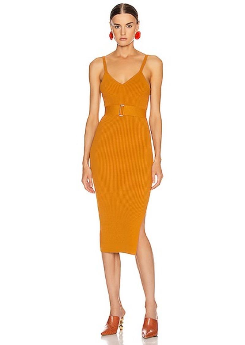 NICHOLAS Knit Triangle Top Dress