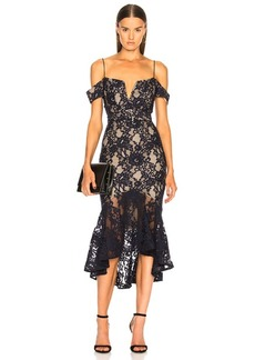 NICHOLAS Rubie Lace Corset Dress