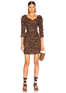 NICHOLAS Ruched Mini Dress
