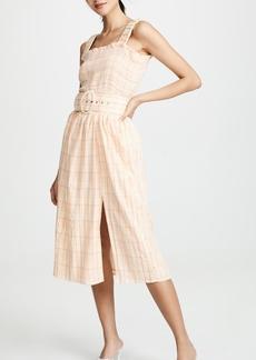 Nicholas Smocked Apron Dress