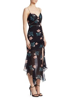 NICHOLAS Piper Floral Drawstring Dress