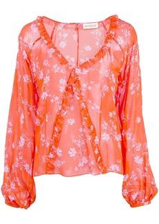 NICHOLAS Poppy print blouse