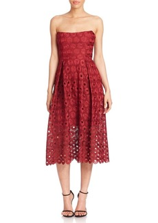 NICHOLAS Spot Lace Ball Dress