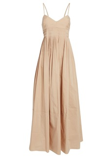 NICHOLAS Susan Pleated Sleeveless Dress