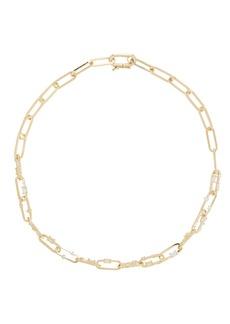 Nickho Rey Capri Crystal Chain-Link Necklace