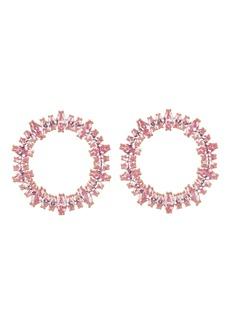Nickho Rey Fifi Stone Hoop Earrings