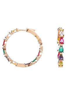 Nickho Rey Gil Rainbow Hoop Earrings