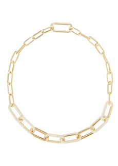 Nickho Rey Pavé Chain-Link Necklace