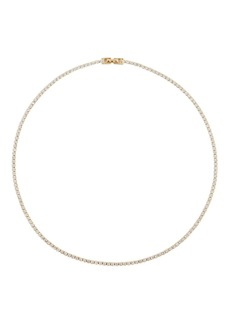 "Nickho Rey 14"" Tish Crystal Tennis Necklace"