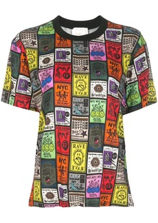 Nicole Miller all-over print T-shirt