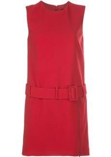 Nicole Miller belted waist dress