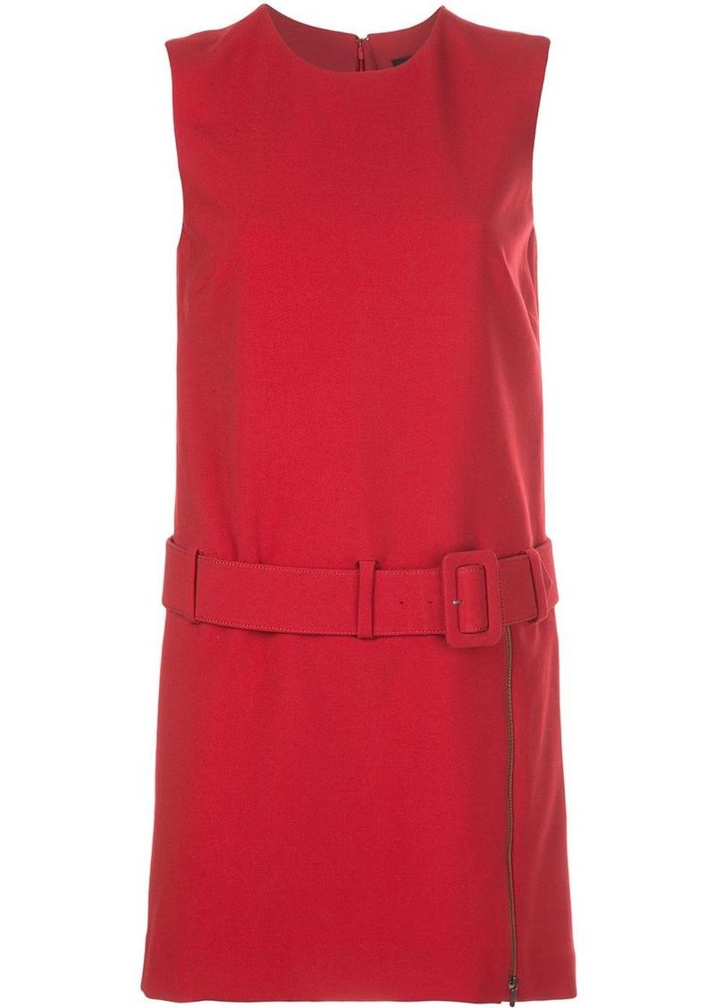 Nicole Miller belted waist dress