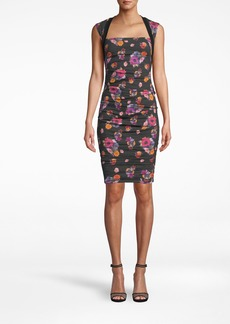 Nicole Miller Bouquet Beauty Cotton Metal Felicity Dress