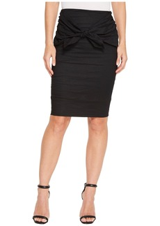 Nicole Miller Brandi Cotton Metal Skirt