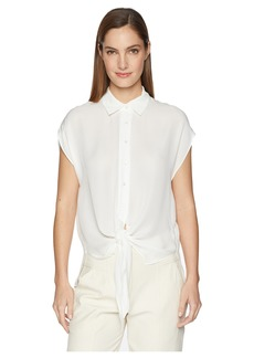 Nicole Miller Button Placket Shirt