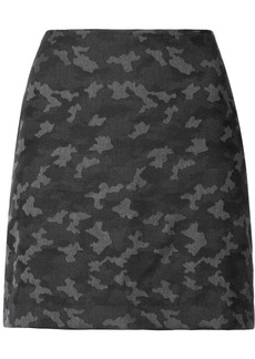 Nicole Miller camouflage mini skirt