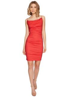 Nicole Miller Carly Cotton Metal Spaghetti Strap Dress