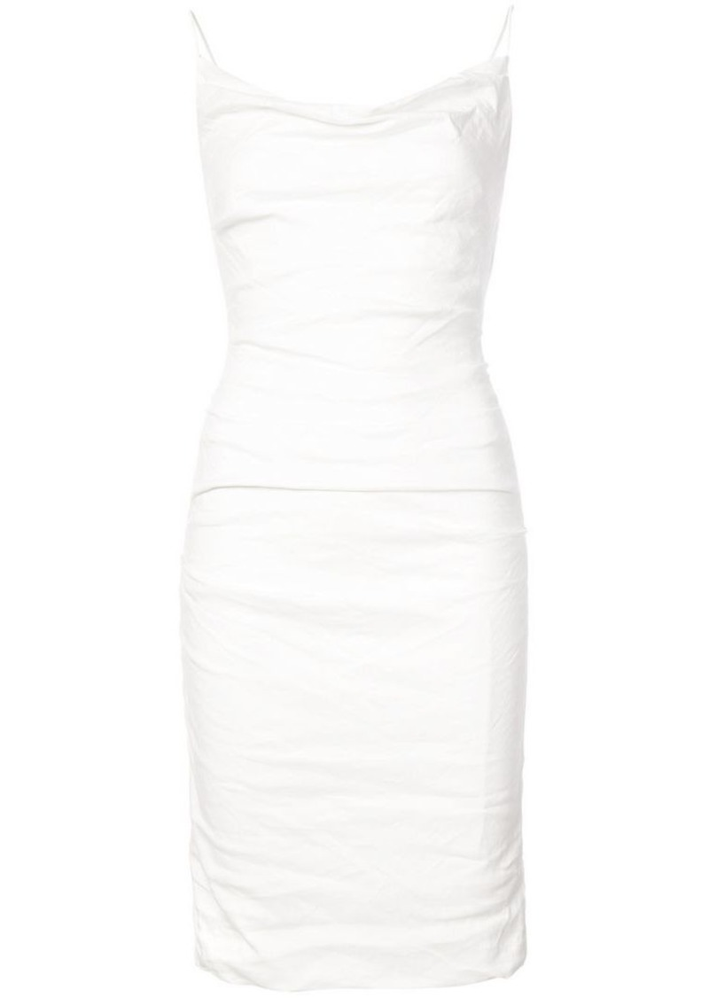Nicole Miller Carly cowl neck dress
