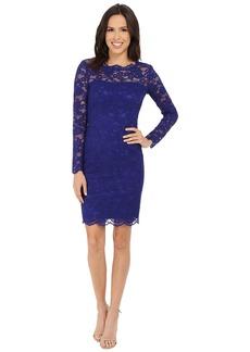 Nicole Miller Charlotte Long Sleeve Lace Dress