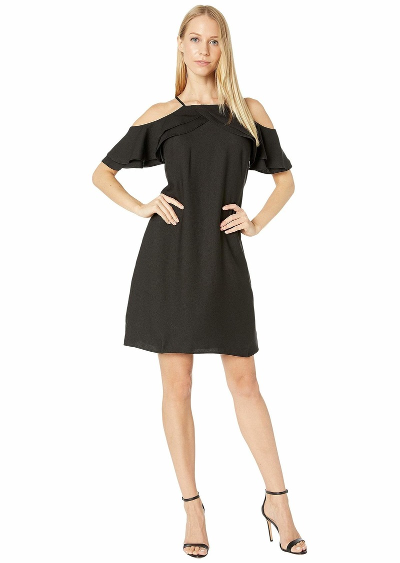 Nicole Miller Cold Shoulder Dress