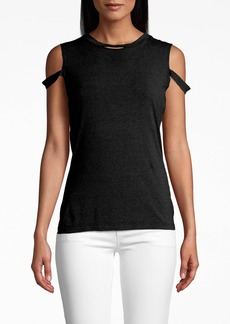 Nicole Miller Cotton Jersey Timmy T-shirt