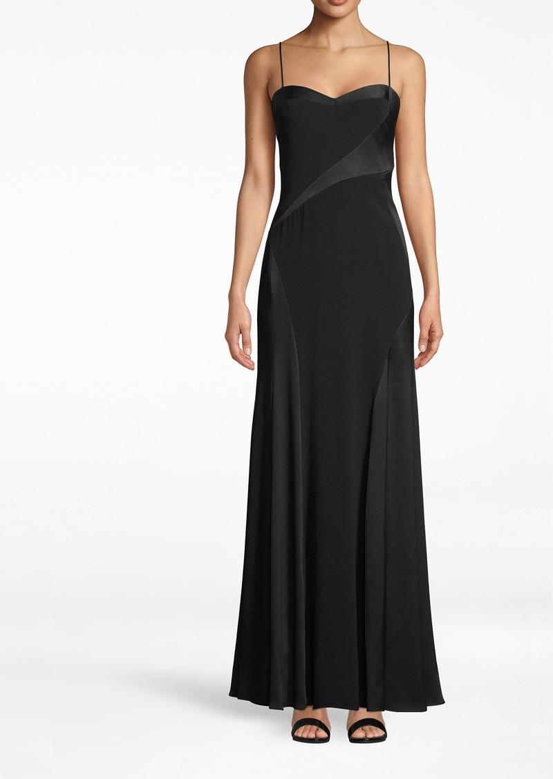 Nicole Miller Crinkle Sweetheart Gown