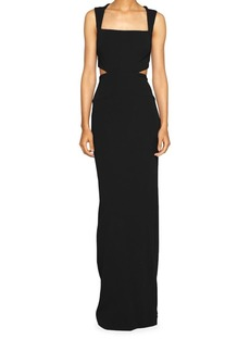 Nicole Miller Cutout Column Gown