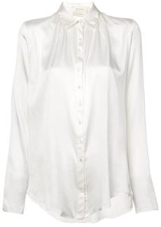 Nicole Miller boyfriend blouse