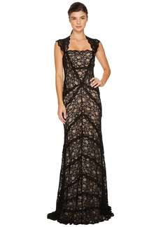 Nicole Miller Eva Gown Stretch Lace
