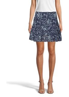 Nicole Miller Evening Garden Ruffle Mini Skirt