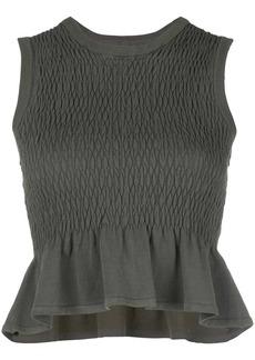 Nicole Miller fishtail blouse