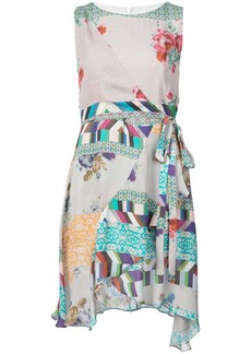 Nicole Miller floral pattern dress