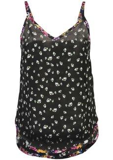 Nicole Miller floral print tank top
