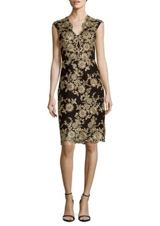 Nicole Miller Floral Sleeveless Dress
