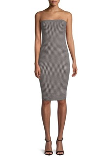 Nicole Miller Geometric Sheath Dress