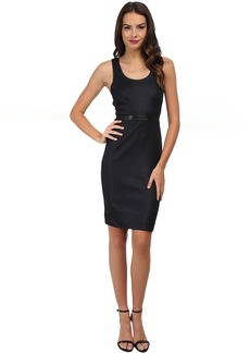 Nicole Miller Glazed Rib Ponte Dress