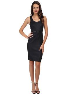 Nicole Miller Glazed Rib Ponte Dress